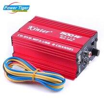 Kinter AMP 2CH USB Hi-Fi Digital Stereo Subwoofer Amplifier CD MP3 Radio Car Auto Motor Boat