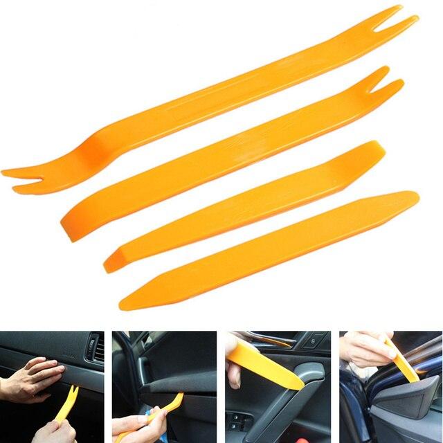 4 יח'\סט רכב אודיו דלת הסרת כלי רכב Accessaries עבור סובארו XV פורסטר אאוטבק Legacy אימפרזה XV BRZ טרייבקה