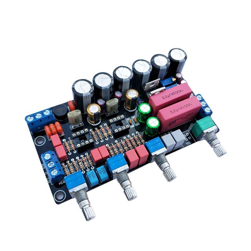 Hifi Amplificatore Opa2604 Ad827 Bordo Tono 5532 Appassionato Di Tono Tono Scheda Preamplificatore Audio Bordo Dell'amplificatore Treble Regolazione Dei Bassi Brividi E Dolori
