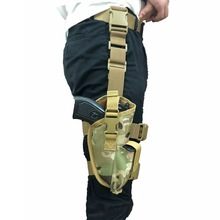 Охотничьи аксессуары, чехол с пистолетом Glock, военная страйкбольная кобура, тактическая кобура для пистолета с опущенной ногой, кобура для пистолета, кобура для правой руки