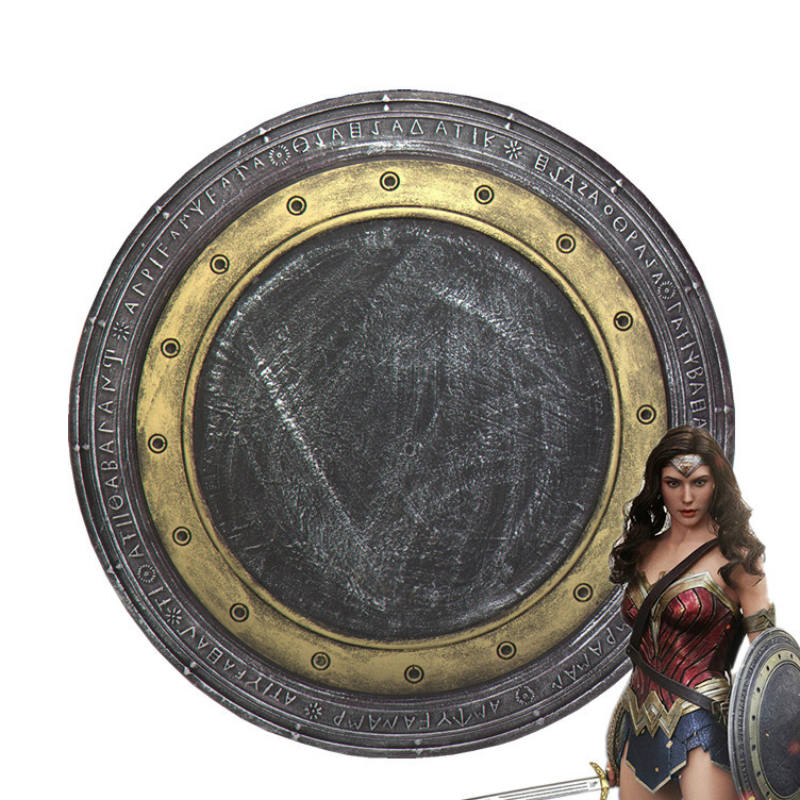 Simulation Weapon Armor Shield Cosplay for Wonder Woman Vestidos US Movie Anime Superhero Party Helloween Costume Diameter 54cm