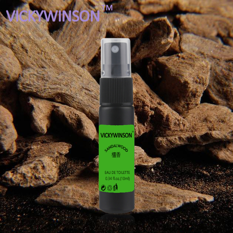 VICKYWINSON Sandalwood Deodorization 10ml Body Odor Clean Spray Antiperspirant Armpit Cleaner Odor Formula Deodorant