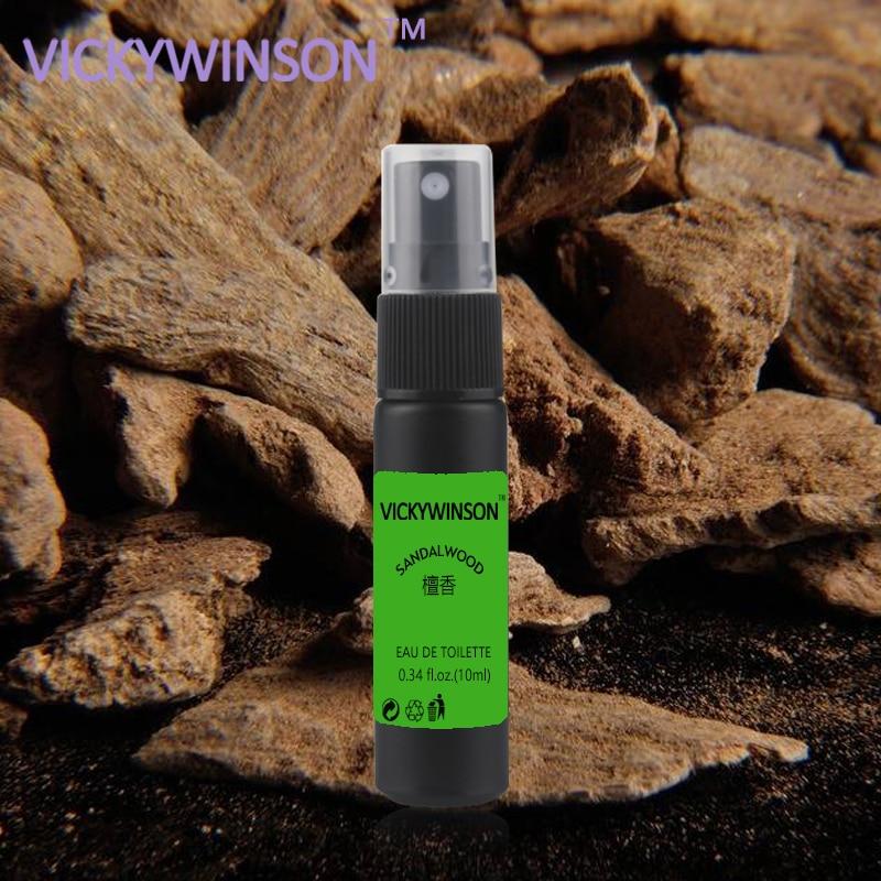 VICKYWINSON Sandalwood Deodorization 10ml Body Odor Clean Spray Antiperspirant Armpit Cleaner Odor Formula Deodorant