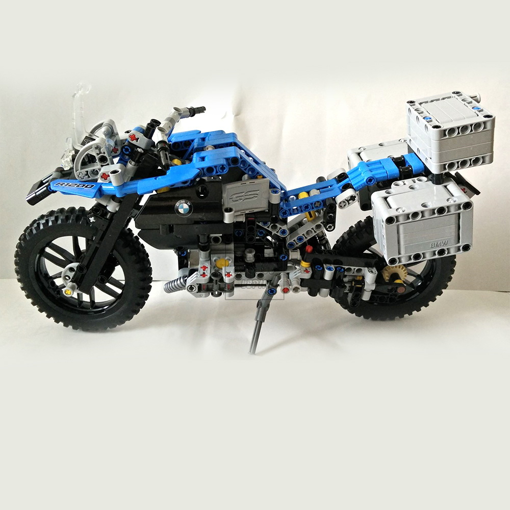 New 2017 Lepin 20032 Technic Series The BAMW Off-road Motorcycles R1200 GS Building Blocks Bricks Educational Toys for Kid 42063 decoo 3369 technic series the bamw off road motorcycles r1200 gs building blocks bricks educational toys lepin 20032 b11