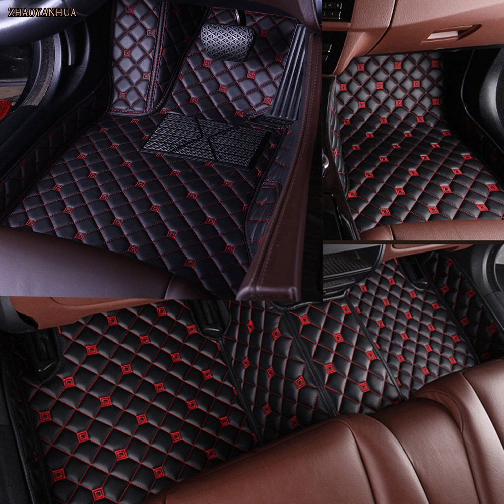 ZHAOYANHUAcar tappetini per Mazda MX-3/2 CX-5 CX-7 auto-styling heavy duty all weather protection moquette del pavimento linerZHAOYANHUAcar tappetini per Mazda MX-3/2 CX-5 CX-7 auto-styling heavy duty all weather protection moquette del pavimento liner