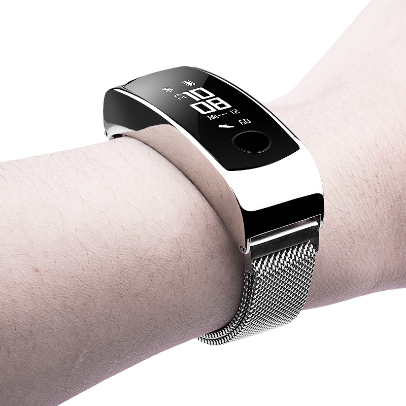 Milanese Loop Bracelet for honor band 3 Magnetic adjustable buckle Stainless Steel band Quick installation honor Band 3 Strap