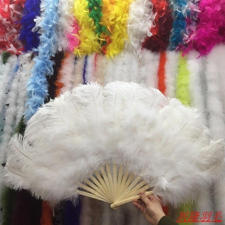 15 os de haute qualité surdimensionné blanc autruche plume ventilateur danse de Halloween décoration bijoux-in Plume from Maison & Animalerie    1