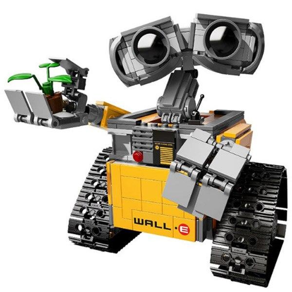LEPIN 16003 Ideas Robot Wall-e el Último Robot a la izquierda en tierra Modelo K