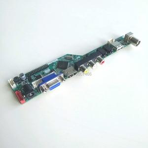 "Image 3 - T V56 controlador placas base kit de bricolaje para M101NWT2 notebook PC lcd panel VGA HDMI USB RF 40 pin 10,1 ""WLED LVDS 1024*600"