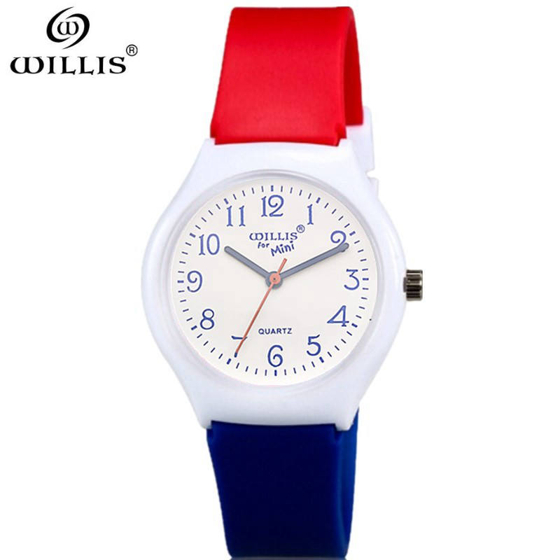 WILLIS Women watch Fashion ladies Silicone strap women watches waterproof Luxury top brand wristwatches new quartz clock watch