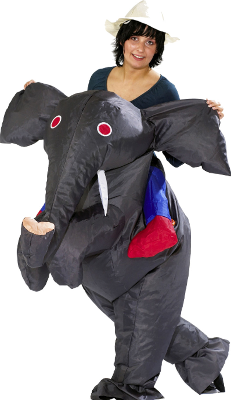 Free Shipping Inflatable Elephant Costume For Adult Men -8811