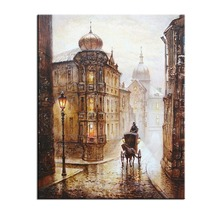Carriage Love Pictures Painting By Numbers DIY Digital Oil On Canvas Home Decoration 40x50cm Frameless Popular Gift