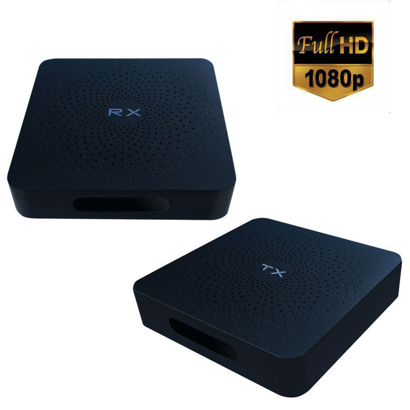Full HD 1080P 60GHZ HDMI1.4a Wireless Extender HDMI Transmitter Receiver Up to 30M Transmission Support 3D HDCP1.4 50m 164ft 1080p wireless hdbitt hdmi extender repeater hd wireless hdmi transmitter receiver extend lkv388 hdmi remote signal