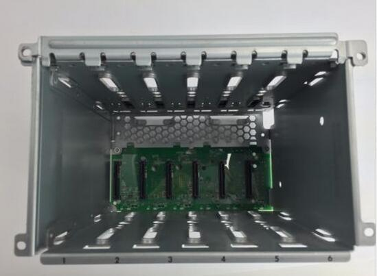 HDD Cage and SAS Backplane for 511787-001 465313-001 ML350 G6 LFF 6 x 3.5 welt ested working