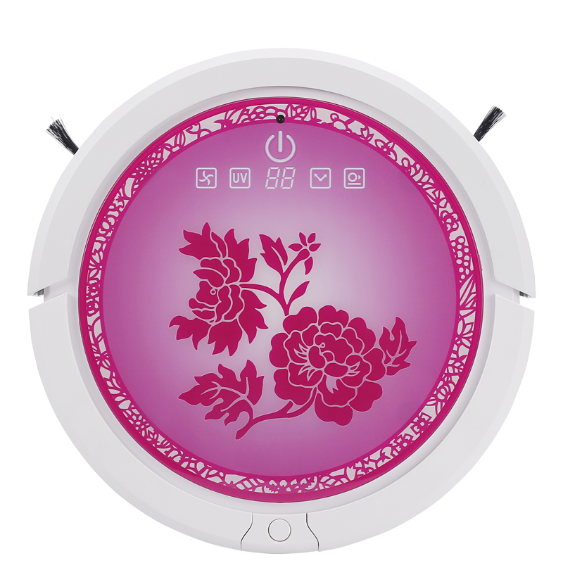 цены  hot sale , strong suction power , rainbow series real robot vacuum cleaner , Patent technical ultrasonic wave , self-charge