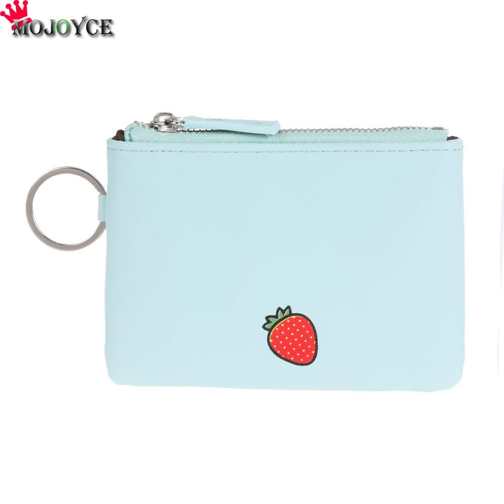 New Arrive Fashion Women Wallet Girls Cute PU leather Fruit Coin Purse Wallet Female Bag Change Pouch Key Holder 2017 new fashion design women cute pu leather change purse wallet bag girls coin card money pouch portable purse small bag jan12