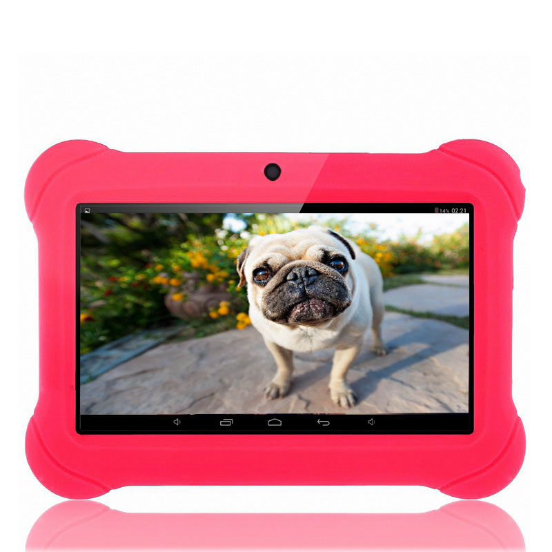 BDF 7 inch Kids Gift Tablets Quad Core Android 4.4 1024*600 HD Capacitive screen 512MB/ 8GB Best gifts for Children Tablet pc babypad 7 inch 1024 600 hd android 4 4 tablet pc for kids quad core dual cameras google 8gb rom case free christmas gift