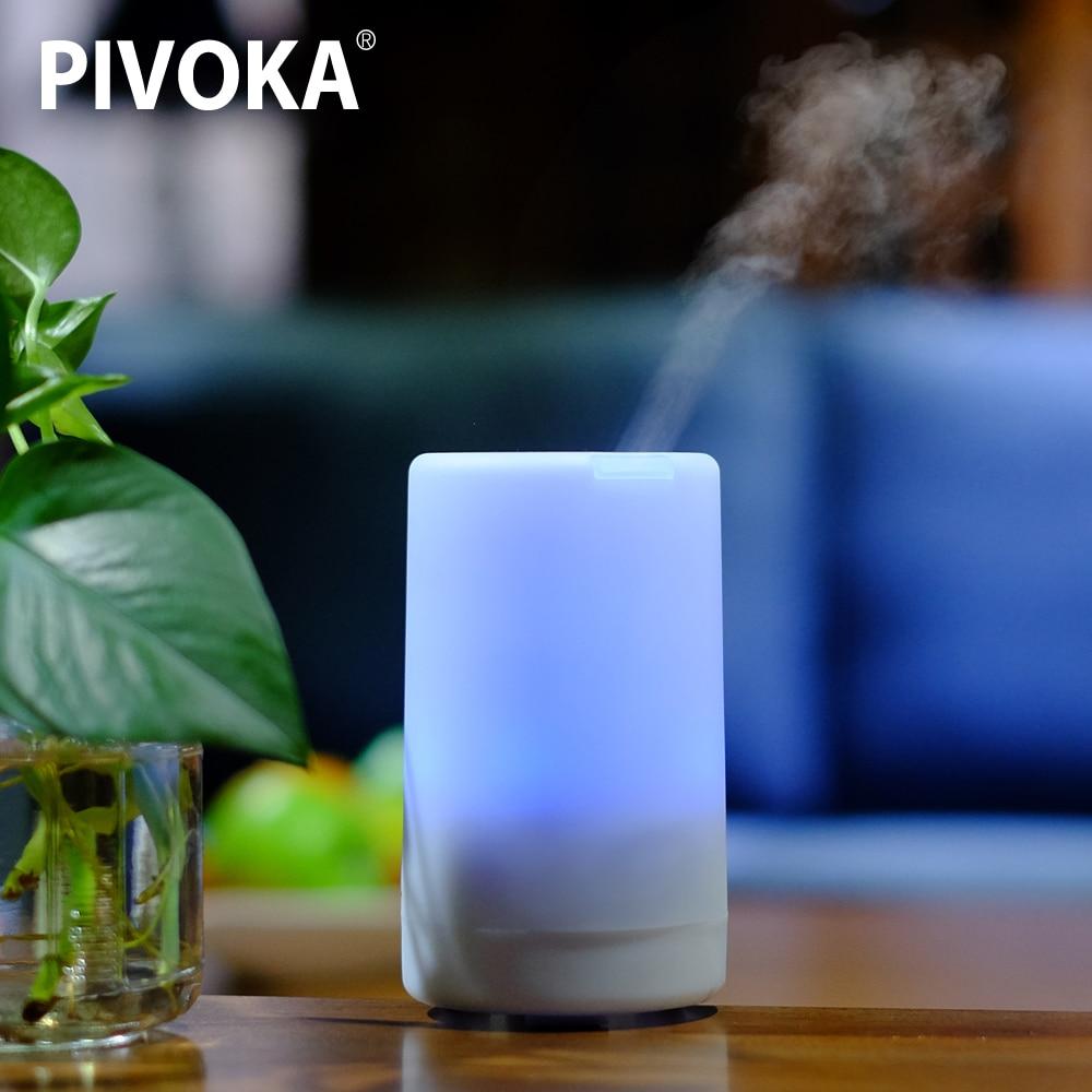 Pivoka aroma eléctrico Aceites difusor ultrasonidos humidificador de aire aromaterapia grano Aceites humidificador de vapor frío