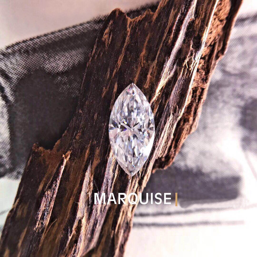1CT GHI Marquise Excellent Cut Moissanite Charles Colvard Forever One Loose Moissanite Diamond Stone for jewelry Test Postive