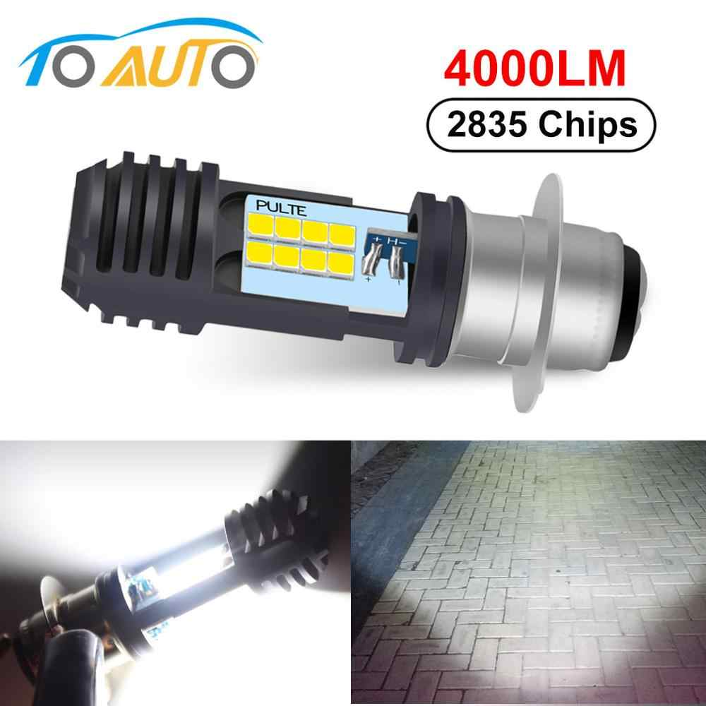 P15D H6M 16 LED CSP Chips Motorcycle Headlight Motorcycle Scooter P15D-25-1 LED Light Super Bright Light lamp Moto DRL Lights