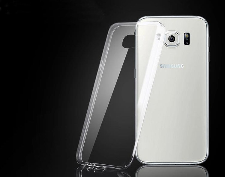 lowest price a20d8 f3cde US $1.99 |New Arrival Ultra thin Clear Crystal Transparent Soft Silicon  Case Cover For Samsung Galaxy s6 edge G9250 Phone Case on Aliexpress.com |  ...
