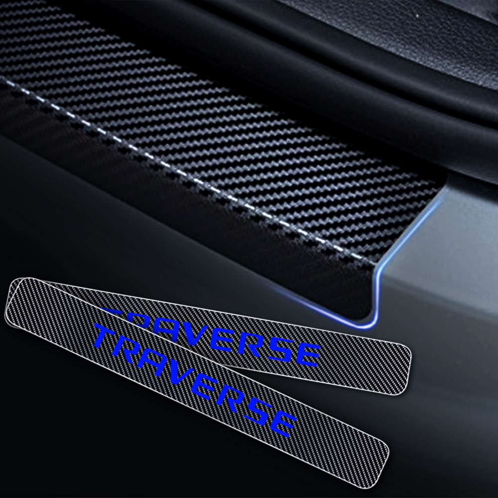 4 PCS Porta Passo Protetor Para Chevrolet