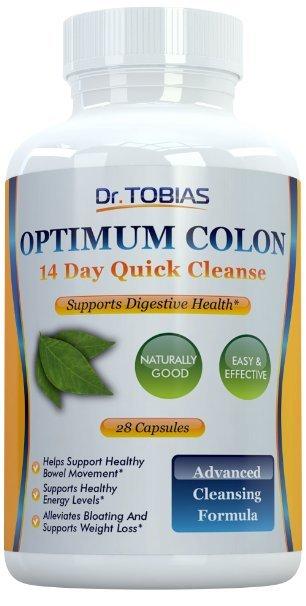 Óptima de Colon: 14 Días de Limpieza Rápida para Apoyar la Desintoxicación, 28 cápsulas para Bajar de Peso y Aumento de Los Niveles de Energía