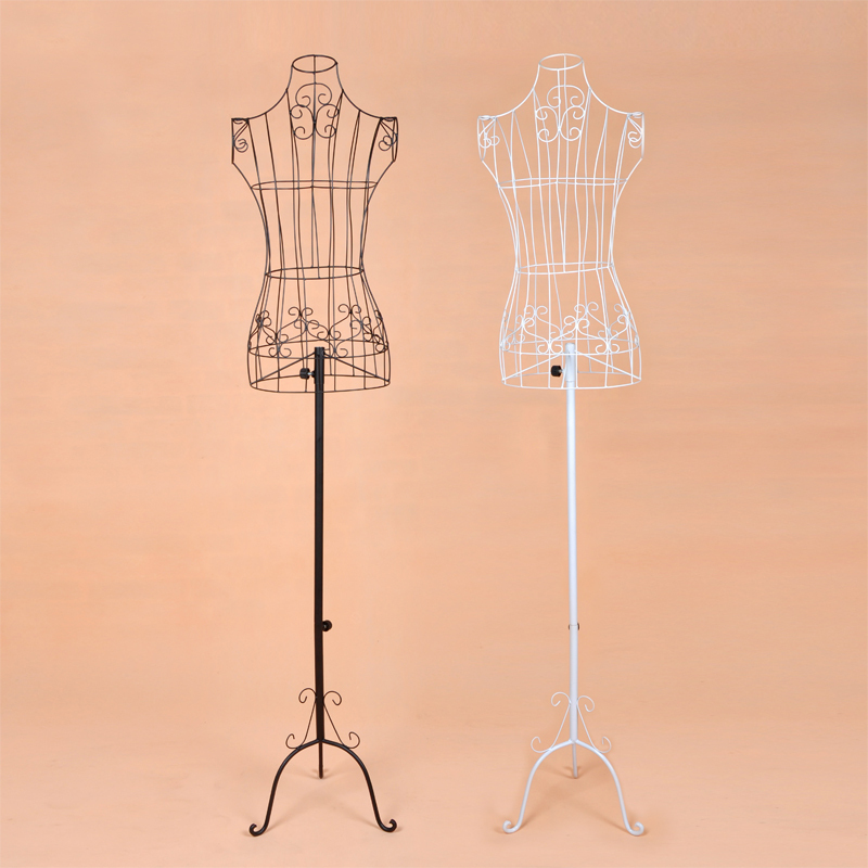 NEW Wire Dress Form Mannequin Boutique Clothing Decor Metal Store ...