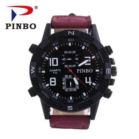 Relogio Masculino 2019 nouvelle marque de luxe de mode hommes grand cadran montre à quartz décontractée hommes bracelet en cuir montres militaires Chasy