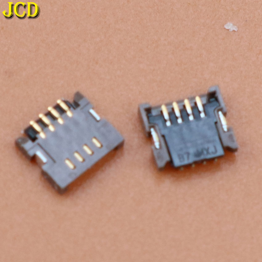 JCD 1PCS For Nintendo DS Lite NDSL NDS Touch Screen Ribbon Port Socket For 3DS XL 4Pin Touch Screen Cable Connector Clip