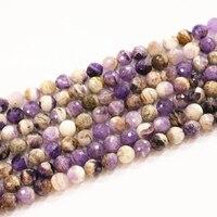 天然アメジスト石10ミリメートル12ミリメートルビーズファセットラウンドルースビーズ紫色の宝石を作るdiyネックレスブレスレットの検索15インチB3289
