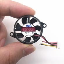 AVC DATA0307R5H-002 3007 30 мм 3 см круговой вентилятор 30*30*7 мм 5 в 0,65 Вт светодиодный вентилятор охлаждения бесшумный вентилятор для ноутбука