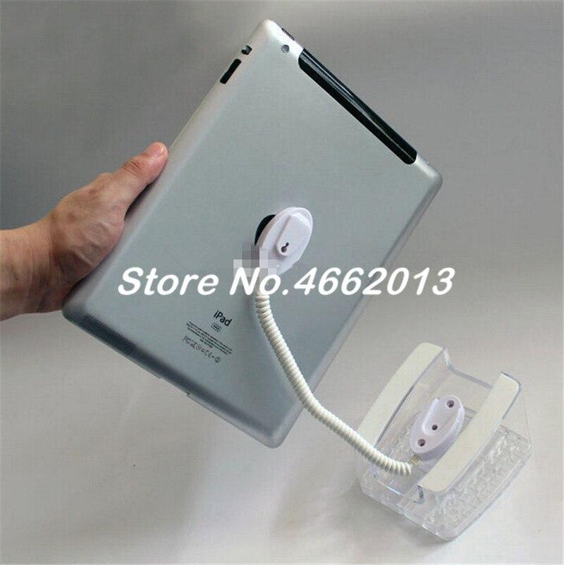 10 Xacrylic Sicherheit Ipad Stehen Tablet Display Halter Clear Base Für Apple Samsung Shop Tablet Pc Anti-diebstahl Exhibit Und Verkauf