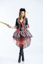 New Halloween Party Pirates of the Caribbean Costumes Game Uniforms