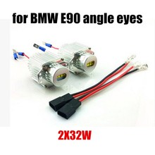 hot sale 2pcs/lot New Arrival Angel Eyes E90 High Power 32WX2 12V Car Styling LED For BMW E90