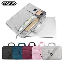 MOSISO Laptop Bag Case 13.3 14.1 15.6 Messenger Bags For MacBook Air 13 Notebook Handbag Briefcase for Pro 15