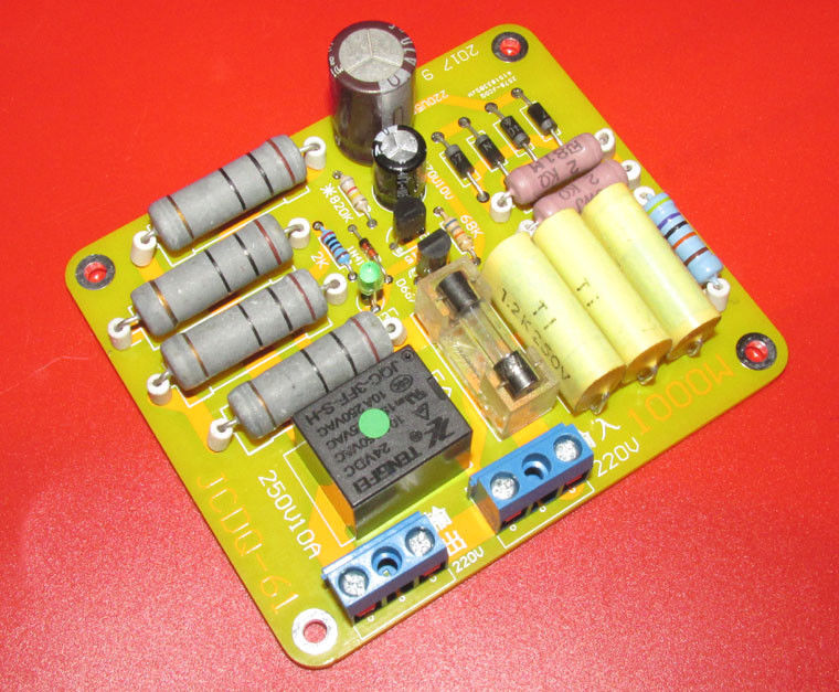 AC 220V-240V 2000W High Power Amplifier Soft Start Switch Delay Protection Kits