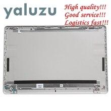 YALUZU funda trasera para portátil HP 250 G6 255 G6 256 G6 258 G6, tapa trasera LCD plateada