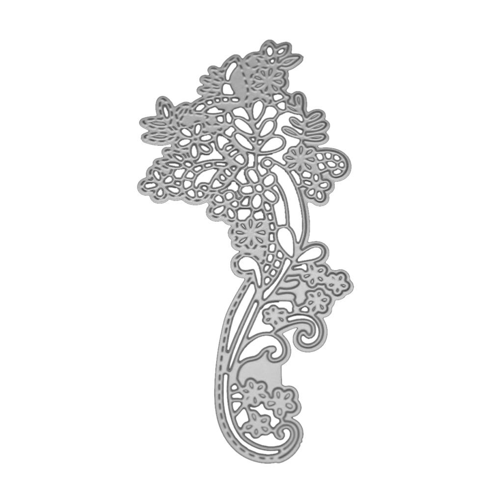 Wedding Lace Flower Metal Cutting Dies Stencils For Scrapbooking DIY Album Card Decoration Embossing Folder Cutter Die Template in Cutting Dies from Home Garden