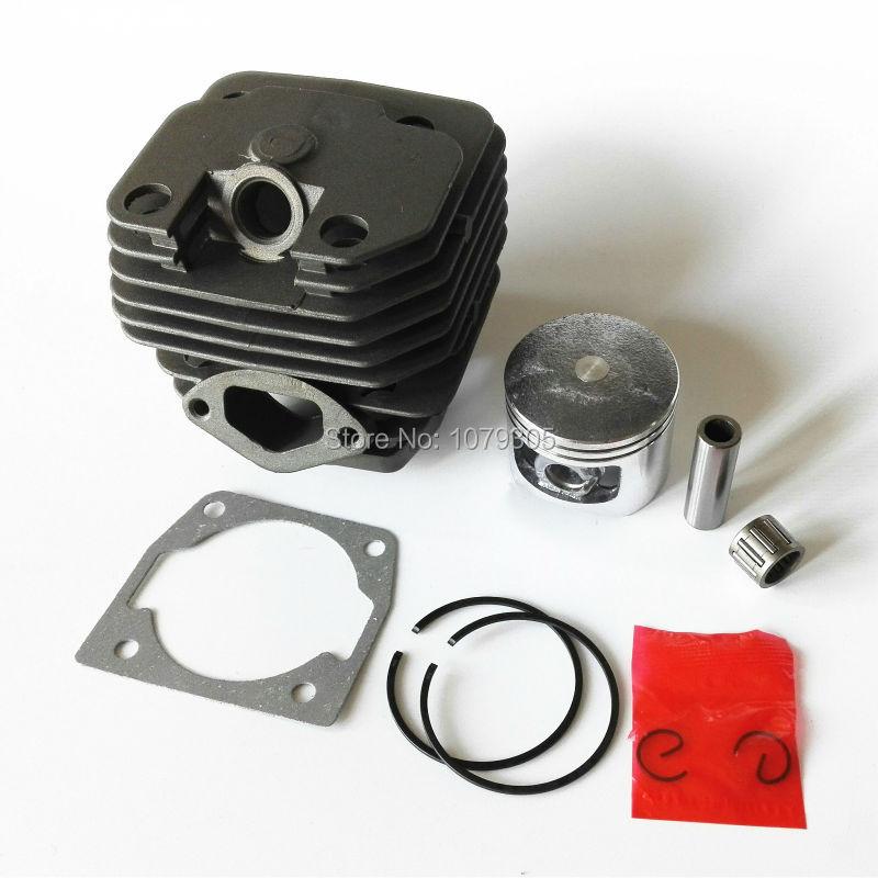 5800 58 cc benzino grandininių pjūklų cilindrų rinkinys diametras 45,2 mm
