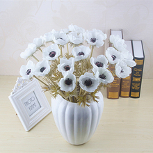 High-grade simulation flower grass grain rose bride holding hand feel living room decorative flowers
