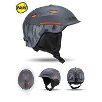 Nandn Brand Ski Helmets PC EPS Ultralight High Quality Snowboard Helmets Men Women Children Skating Skateboard