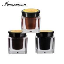 3 db Szemöldök Tattoo Practice Pigment Ink Állandó Smink Microblading Supplies kezdőknek Gyakorlat Light Coffee / Deep Coffee