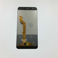 Blue Touch Screen Digitizer Sensor Panel Glass Lens LCD Display Monitor Screen Panel Module Assembly For