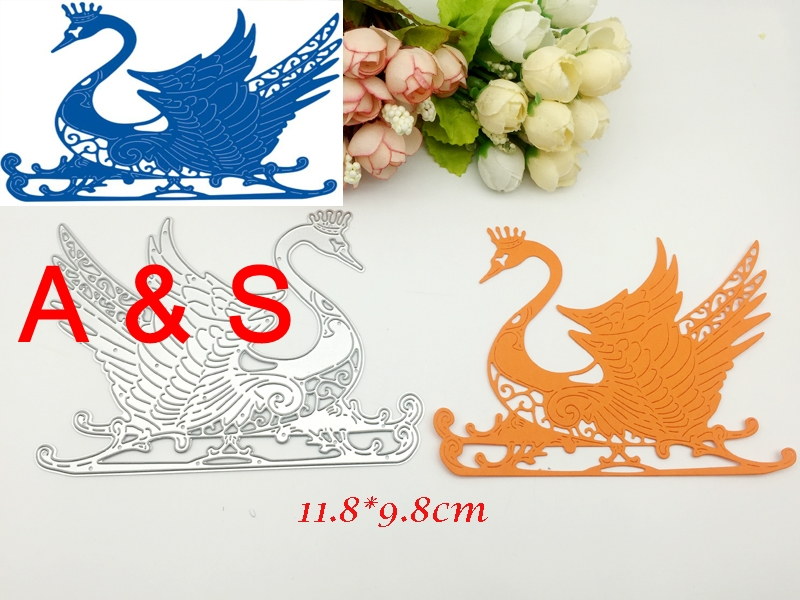 K39 METAL CUTTING DIES Swan Princess Fairy Tale Love Story Crown Scrapbook Card Album Paper Craft Home Decor Embossing Stencil