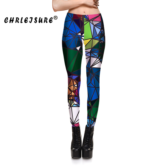 CHRLEISURE-S-XL-Couleur-Blocs-Leggings-Femmes -lasticit-G-om-trie-Miroir-Impression-Pantalon-Grande-Taille.jpg 640x640.jpg d3c3389a5dd