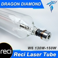 High Quality RECI 130W W6 Laser Tube For CO2 Laser Engraver Machine