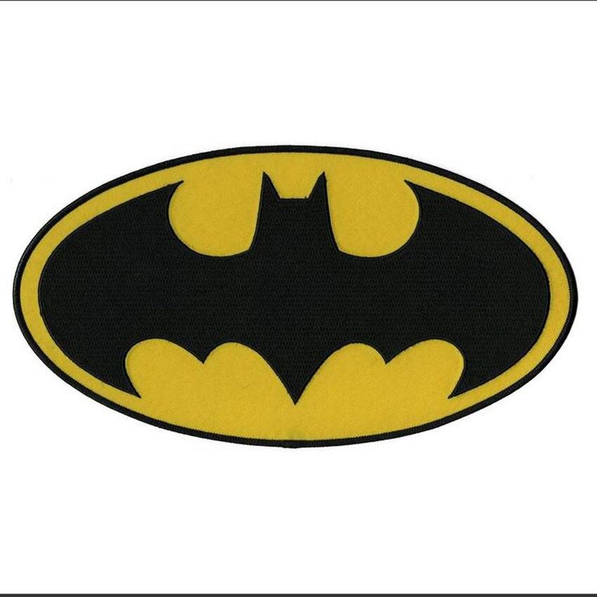 Бэтмен Темный рыцарь DC Comics фильм Классический битой Логотип Железо на аппликация Мораль патч ...