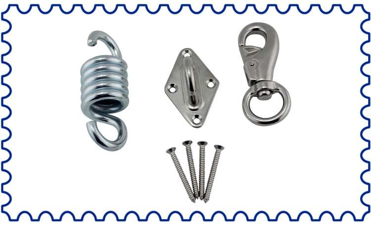 Cadeira de rede de aço inoxidável kit