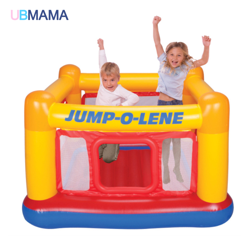 Children Inflatable Toys Trampoline Household Type Trampoline Indoor Trampoline Play Groud Pool 174*174*112cm hot sale 1000g dynamic amazing diy educational toys no mess indoor magic play sand children toys mars space sand
